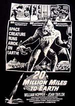 「地球へ2千万マイル」 20MILLION MILES TO EARTH