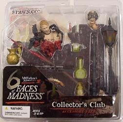 McFARLANE 6 FACES OF MADNESS COLLECTOR'S CLUB限定 アクセサリーパック