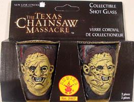 RUBIE'S THE TEXAS CHAINSAW MASSACRE LEATHERFACE SHOT GLASS