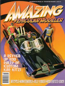 AMAZING VEHICULAR MODELER #2 増刊号 車の模型の特集号です。