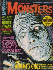 FAMOUS MONSTERS OF FILMLAND #36