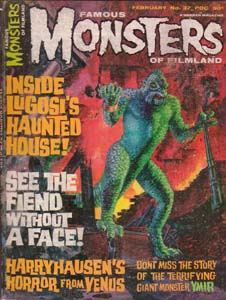 FAMOUS MONSTERS OF FILMLAND #37