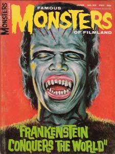 FAMOUS MONSTERS OF FILMLAND #39