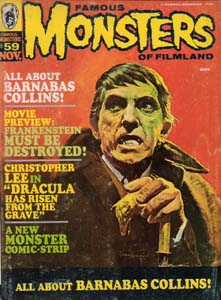 FAMOUS MONSTERS OF FILMLAND #59