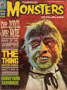 FAMOUS MONSTERS OF FILMLAND #62