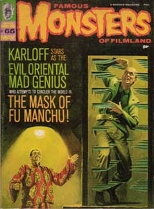 FAMOUS MONSTERS OF FILMLAND #65