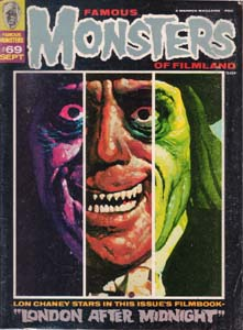FAMOUS MONSTERS OF FILMLAND #69