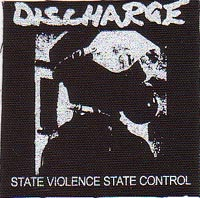 DISCHARGE STATE VIOLENCE STATE CONTROL 縦:約10センチ 横:約10センチ