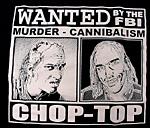 「悪魔のいけにえ2/ FBI CHOP TOP」 TEXAS CHAINSAW MASSACARE 2 (FBI CHOP TOP)