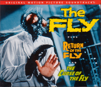 THE FLY 蝿男の恐怖 RETURN OF THE FLY 蝿男の逆襲 THE CURSE OF THE FLY 3作収録