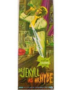 MOEBIUS MODELS DR.JEKYLL AS MR.HYDE プラモデル 限定版 組み立て式プラモデル