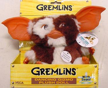 NECA GREMLINS DANCING GIZMO PLUSH DOLL