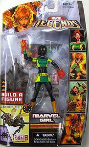 HASBRO MARVEL LEGENDS 3 VARIANT MARVEL GIRL