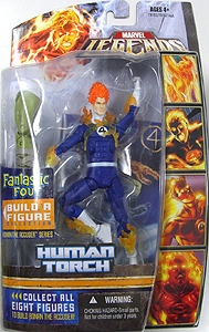 HASBRO MARVEL LEGENDS FANTASTIC FOUR SERIES HUMAN TORCH 台紙傷み特価