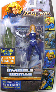 HASBRO MARVEL LEGENDS FANTASTIC FOUR SERIES INVISIBLE WOMAN