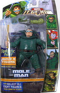 HASBRO MARVEL LEGENDS FANTASTIC FOUR SERIES MOLE MAN