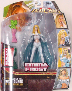 HASBRO MARVEL LEGENDS 1 EMMA FROST 台紙傷み特価