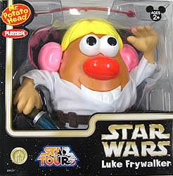 STAR WARS USA ディズニーテーマパーク限定 Mr.ポテトヘッド LUKE FRYWALKER