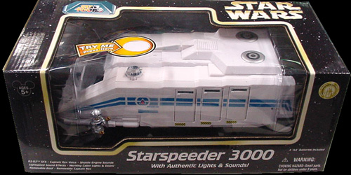 STAR WARS USA ディズニーテーマパーク限定 STAR TOURS STARSPEEDER 3000