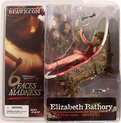 McFARLANE 6 FACES OF MADNESS ELIZABETH BATHORY