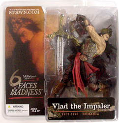 McFARLANE 6 FACES OF MADNESS VLAD THE IMPALER