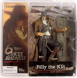 McFARLANE 6 FACES OF MADNESS BILLY THE KID