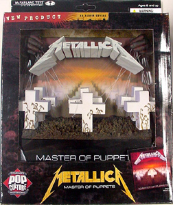McFARLANE 3D ALBUM COVERS METALLICA