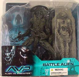 McFARLANE ALIEN VS PREDATOR SERIES 1 BATTLE ALIEN