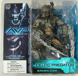 McFARLANE ALIEN VS PREDATOR SERIES 1 CELTIC PREDATOR 香港版