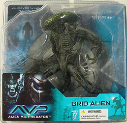 McFARLANE ALIEN VS PREDATOR SERIES 1 GRID ALIEN ブリスターヤケ特価