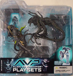 McFARLANE ALIEN VS PREDATOR SERIES 2 ALIEN ATTACKS PREDATOR