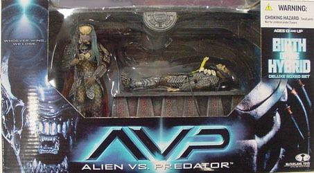 McFARLANE ALIEN VS PREDATOR SERIES 2 DX BOX BIRTH OF THE HYBRID