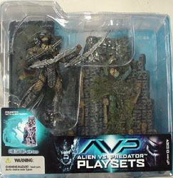 McFARLANE ALIEN VS PREDATOR SERIES 2 PREDATOR WITH BASE