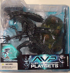 McFARLANE ALIEN VS PREDATOR SERIES 2 ALIEN QUEEN WITH BASE 血糊なし