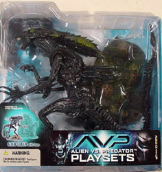 McFARLANE ALIEN VS PREDATOR SERIES 2 ALIEN QUEEN WITH BASE 血糊あり