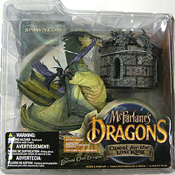 McFARLANE McFARLANE'S DRAGONS SERIES 1 ETERNAL CLAN DRAGON 開封済み中古特価