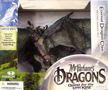 McFARLANE McFARLANE'S DRAGONS SERIES 2 DX BOX ETERNAL DRAGON CLAN