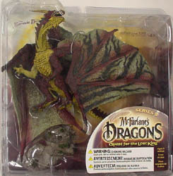 McFARLANE McFARLANE'S DRAGONS SERIES 2 KOMODO CLAN DRAGON ブリスターワレ特価