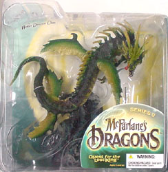 McFARLANE McFARLANE'S DRAGONS SERIES 2 VARIATION WATER CLAN DRAGON