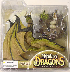 McFARLANE McFARLANE'S DRAGONS SERIES 3 ETERNAL CLAN DRAGON