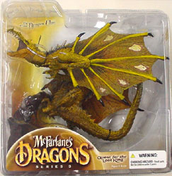McFARLANE McFARLANE'S DRAGONS SERIES 3 FIRE CLAN DRAGON ブリスターワレ特価