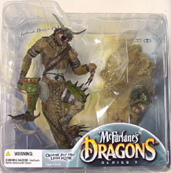 McFARLANE McFARLANE'S DRAGONS SERIES 3 KOMODO CLAN DRAGON