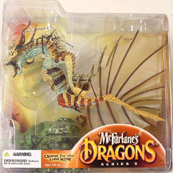 McFARLANE McFARLANE'S DRAGONS SERIES 3 WATER CLAN DRAGON