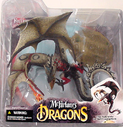 McFARLANE McFARLANE'S DRAGONS SERIES 4 FIRE DRAGON CLAN 4