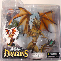 McFARLANE McFARLANE'S DRAGONS SERIES 4 SORCERERS DRAGON CLAN 4