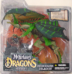 McFARLANE McFARLANE'S DRAGONS SERIES 5 BERSERKER DRAGON CLAN 5