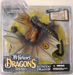 McFARLANE McFARLANE'S DRAGONS SERIES 5 KOMODO DRAGON CLAN 5 国内版