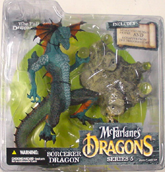 McFARLANE McFARLANE'S DRAGONS SERIES 5 SORCERERS DRAGON CLAN 5