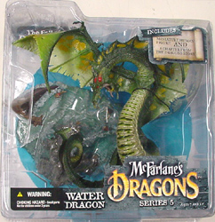 McFARLANE McFARLANE'S DRAGONS SERIES 5 WATER DRAGON CLAN 5