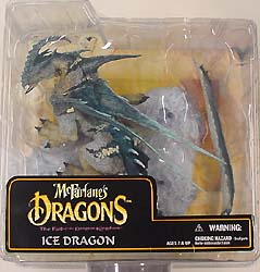 McFARLANE McFARLANE'S DRAGONS SERIES 6 ICE DRAGON